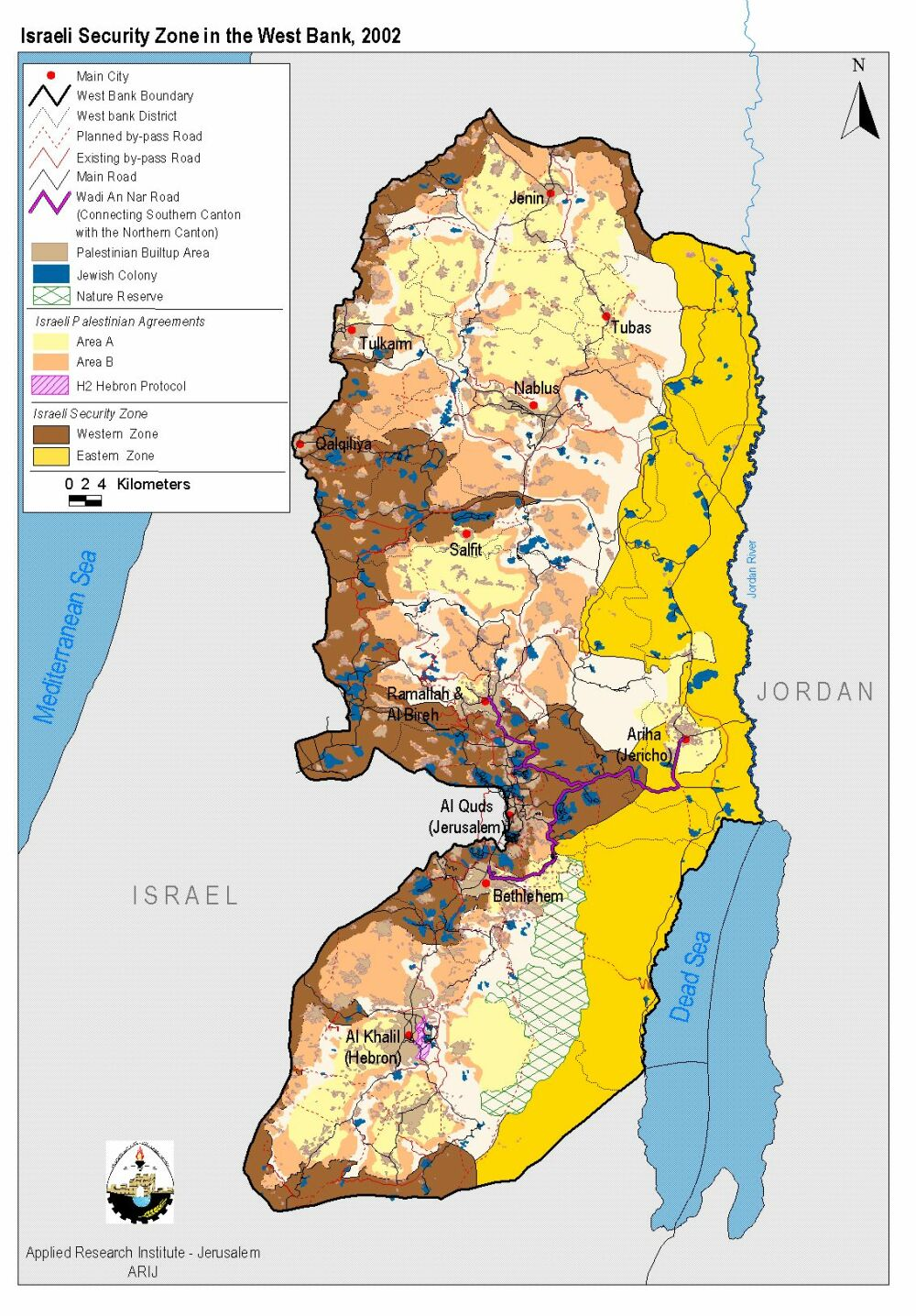 Historical Maps of Israel and Palestine